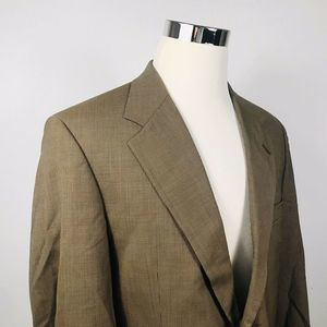 Brooks Brothers Mens 42R Vintage Sport Coat Brown
